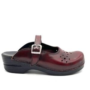 DANSKO martina mary jane clogs 866 5007 size 38